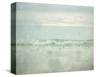 Oceans of Love 1-Elizabeth Urquhart-Stretched Canvas Print