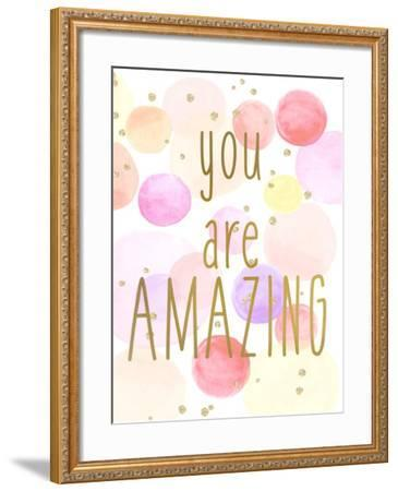 You are Amazing Color-Kimberly Allen-Framed Art Print
