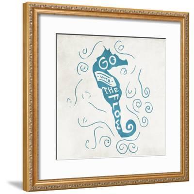 Go With Clean-Jace Grey-Framed Art Print