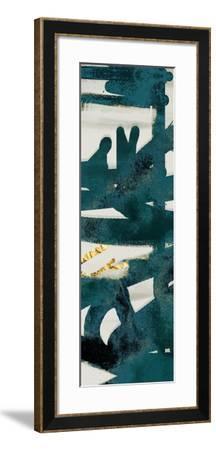 Teal and Flare B-Cynthia Alvarez-Framed Art Print