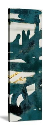 Teal and Flare B-Cynthia Alvarez-Stretched Canvas Print