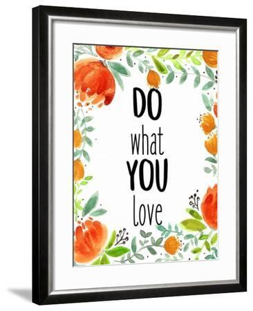 Love What You 2-Kimberly Allen-Framed Art Print