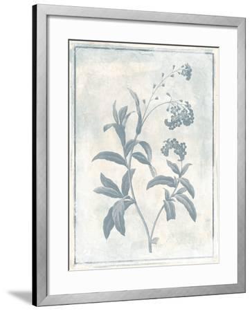 Sky Floral Two Cleaner-Jace Grey-Framed Art Print