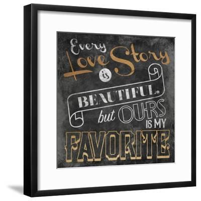 Love Story-Jace Grey-Framed Art Print