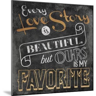 Love Story-Jace Grey-Mounted Art Print