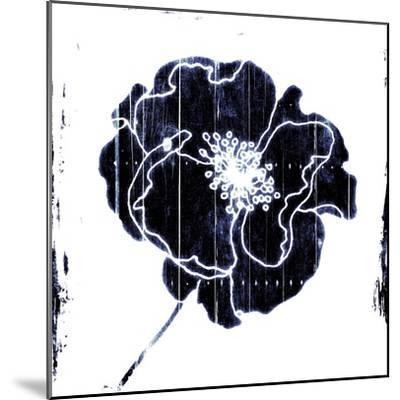 Blue Flower-Jace Grey-Mounted Art Print
