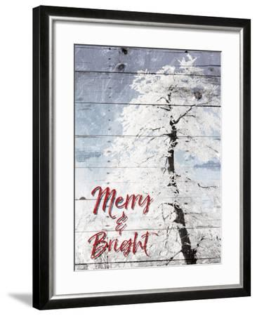 Merry and Bright-Milli Villa-Framed Art Print