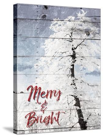 Merry and Bright-Milli Villa-Stretched Canvas Print