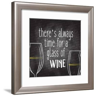 There's Always Time-Kimberly Allen-Framed Art Print