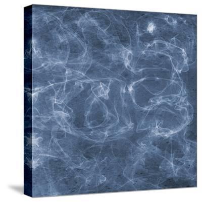 Blue Smoke 2-Sheldon Lewis-Stretched Canvas Print