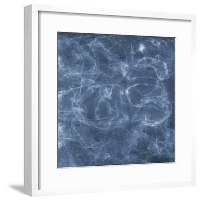 Blue Smoke 2-Sheldon Lewis-Framed Art Print