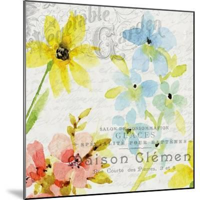 French Floral 2-Kimberly Allen-Mounted Art Print