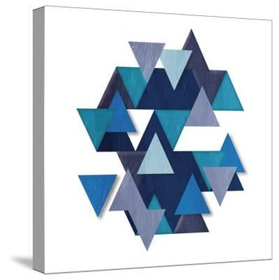 Floating Blueberry Gems-OnRei-Stretched Canvas Print