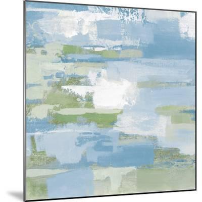 Urban Walkway III Blue and Green-Silvia Vassileva-Mounted Art Print