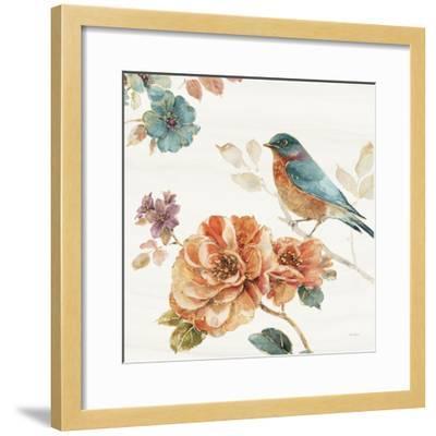 Spiced Nature III Soft White-Lisa Audit-Framed Art Print