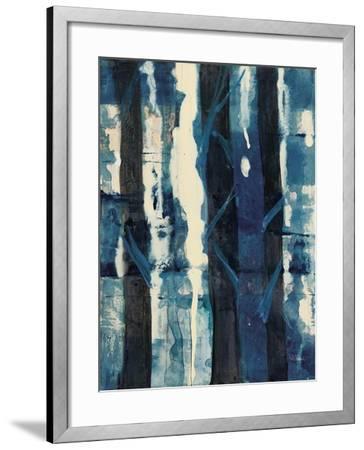 Deep Woods II Indigo-Albena Hristova-Framed Art Print