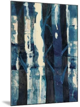 Deep Woods II Indigo-Albena Hristova-Mounted Art Print