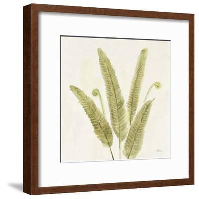 Forest Ferns II v2-Albena Hristova-Framed Art Print