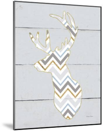 Floral Deer II Masculine-Cleonique Hilsaca-Mounted Art Print