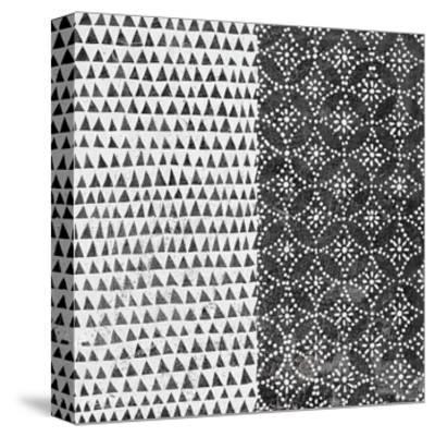 Maki Tile IV BW-Kathrine Lovell-Stretched Canvas Print