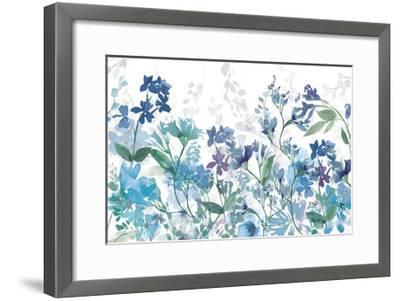 Colors of the Garden Cool Shadows-Wild Apple Portfolio-Framed Art Print