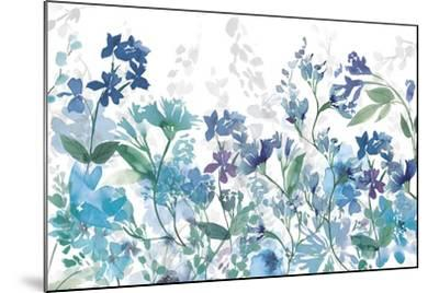 Colors of the Garden Cool Shadows-Wild Apple Portfolio-Mounted Art Print
