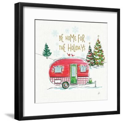 Christmas in the Country V-Daphne Brissonnet-Framed Art Print