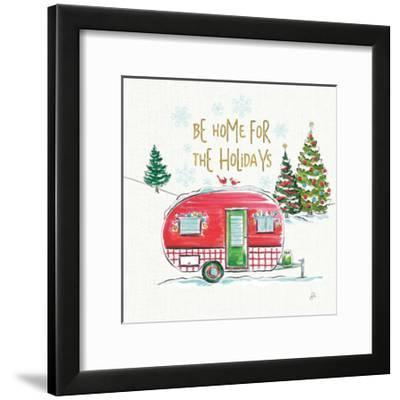 Christmas in the Country V-Daphne Brissonnet-Framed Art Print