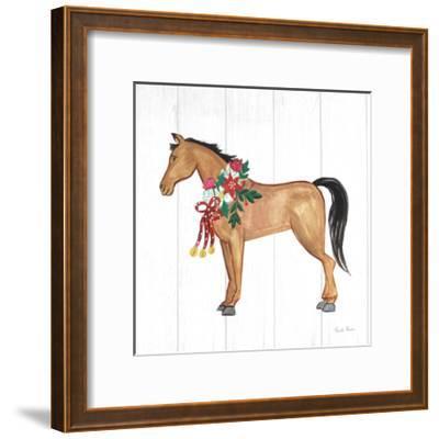 Holiday Farm Animals II-Farida Zaman-Framed Art Print