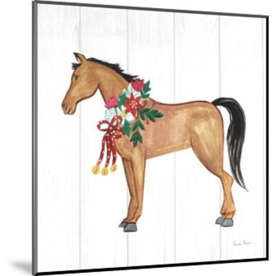 Holiday Farm Animals II-Farida Zaman-Mounted Art Print