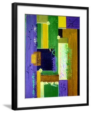 Retro Floral 2-Ruth Palmer-Framed Art Print