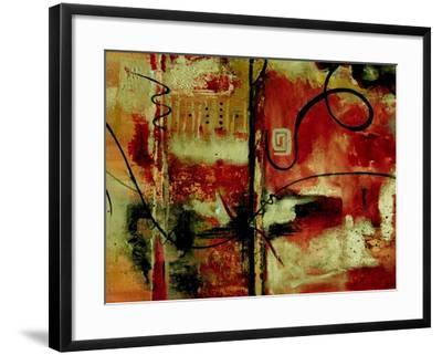Crimson and Copper II-Ruth Palmer-Framed Art Print