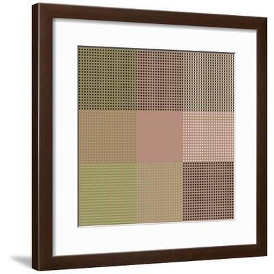 All Squared Away-Ruth Palmer-Framed Art Print