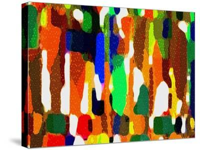 Across A Crowded Room-Ruth Palmer-Stretched Canvas Print