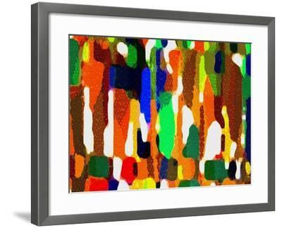 Across A Crowded Room-Ruth Palmer-Framed Art Print