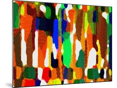 Across A Crowded Room-Ruth Palmer-Mounted Art Print
