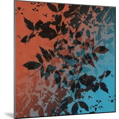 Black Leaves-Ruth Palmer-Mounted Art Print