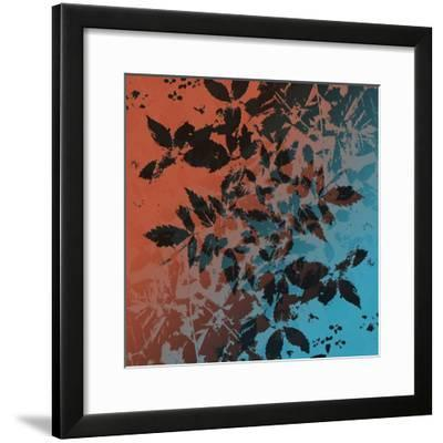 Black Leaves-Ruth Palmer-Framed Art Print