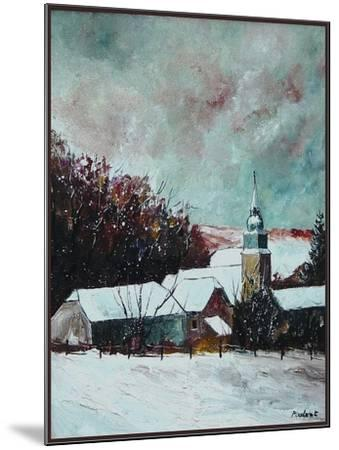 Village ardennes belgium-Pol Ledent-Mounted Art Print