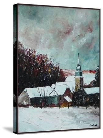 Village ardennes belgium-Pol Ledent-Stretched Canvas Print