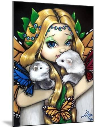 Fairy Ferret Picture : Two Fae Ferrets-Jasmine Becket-Griffith-Mounted Art Print