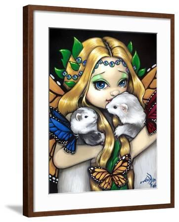 Fairy Ferret Picture : Two Fae Ferrets-Jasmine Becket-Griffith-Framed Art Print