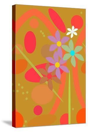 Pink Pop II-Ruth Palmer-Stretched Canvas Print