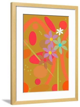 Pink Pop II-Ruth Palmer-Framed Art Print