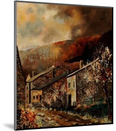 Laforet (Vresse) Ardennes Belgium-Pol Ledent-Mounted Art Print