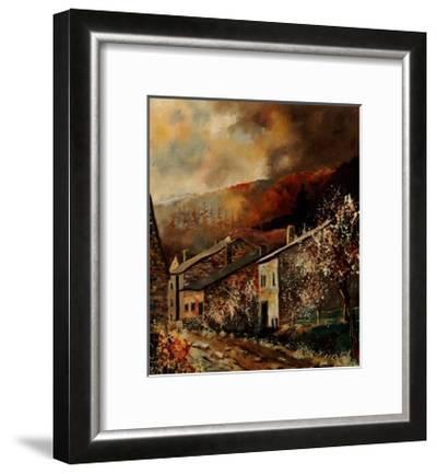 Laforet (Vresse) Ardennes Belgium-Pol Ledent-Framed Art Print