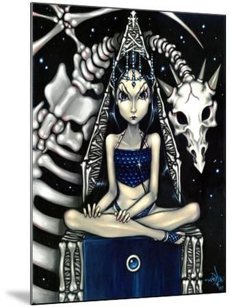 Queen of Bones (Bone Dragon)-Jasmine Becket-Griffith-Mounted Art Print