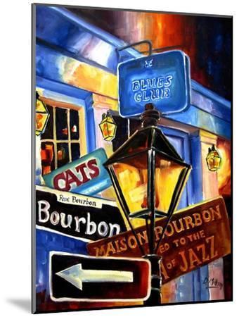 Signs of Bourbon Street-Diane Millsap-Mounted Art Print