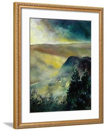 Mist in Frahan-Pol Ledent-Framed Art Print