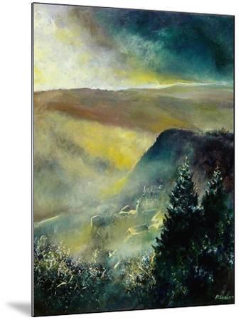 Mist in Frahan-Pol Ledent-Mounted Art Print